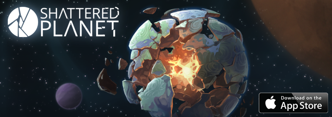 Shattered Planet Key Art
